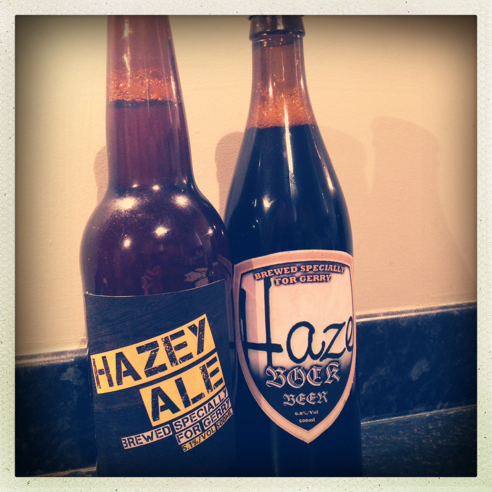 Haze Guitars beer