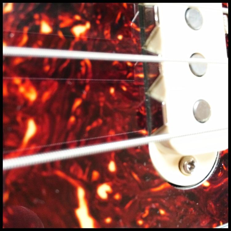 The answer: A Fender Jaguar