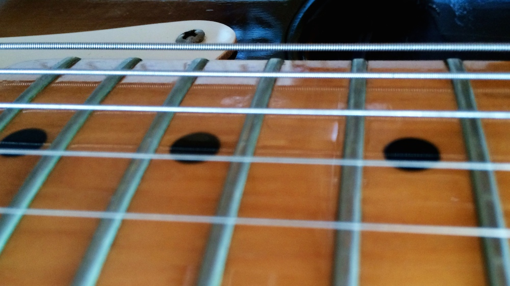 Think critically about the action you want on your guitar or bass. It makes a difference.