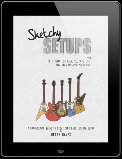 Gibson guitar setup instructions for Les Paul, SG, 335, Flying V, Explorer, etc.