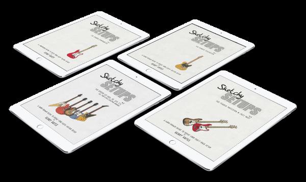Guitar and bass setup guide books