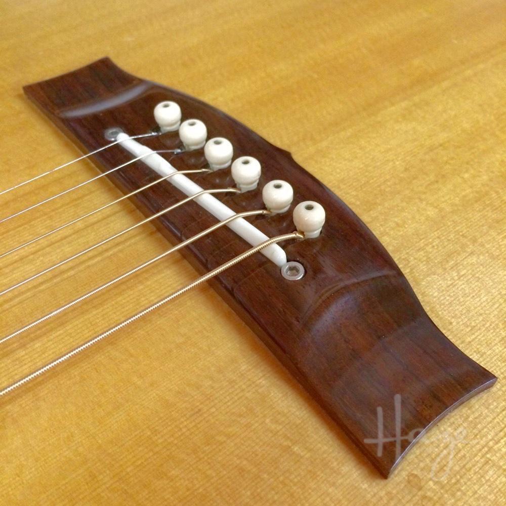 Shaving an Acoustic Guitar Bridge — Haze Guitars
