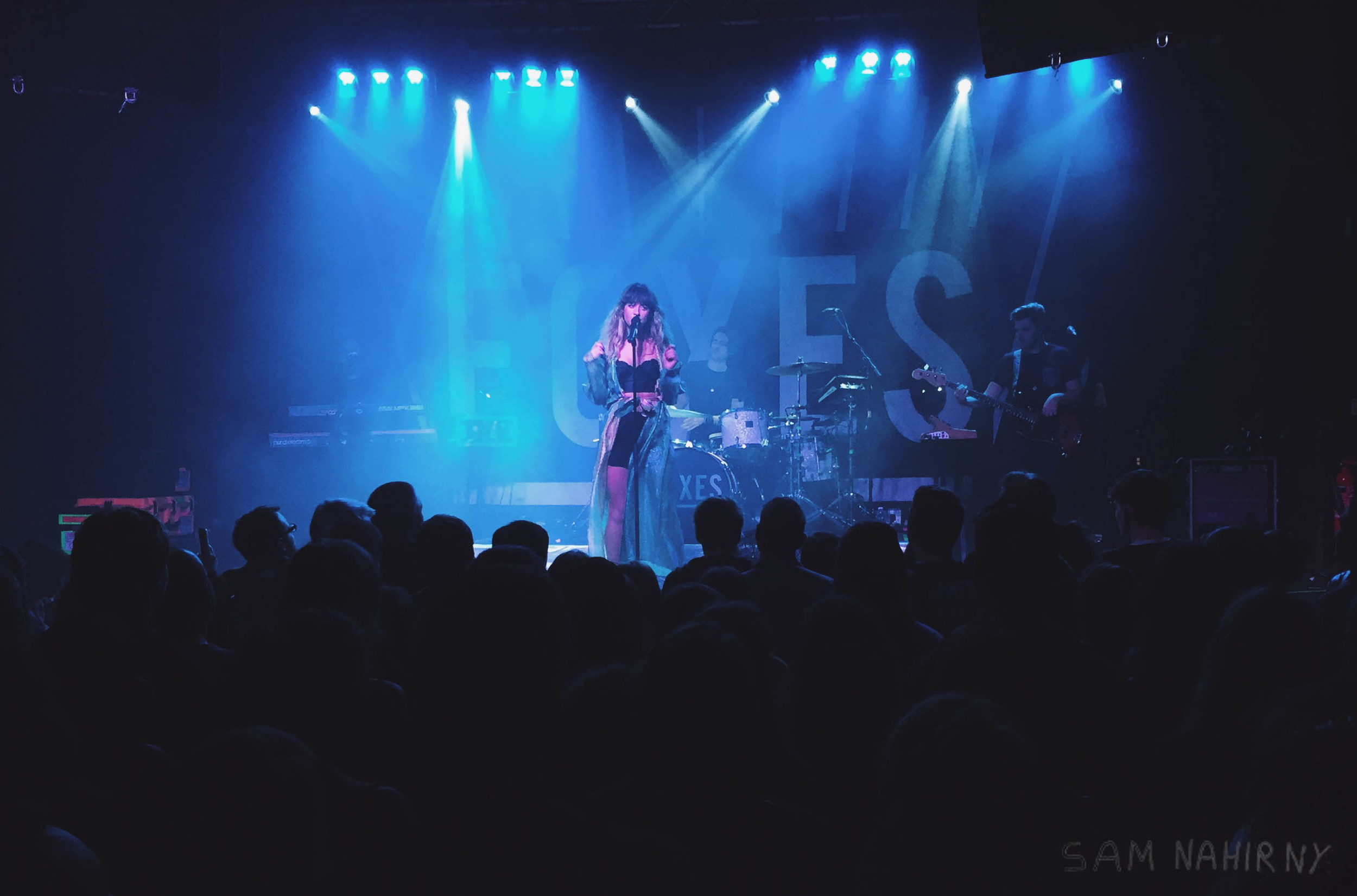 Foxes @ Rescue Rooms October 2015