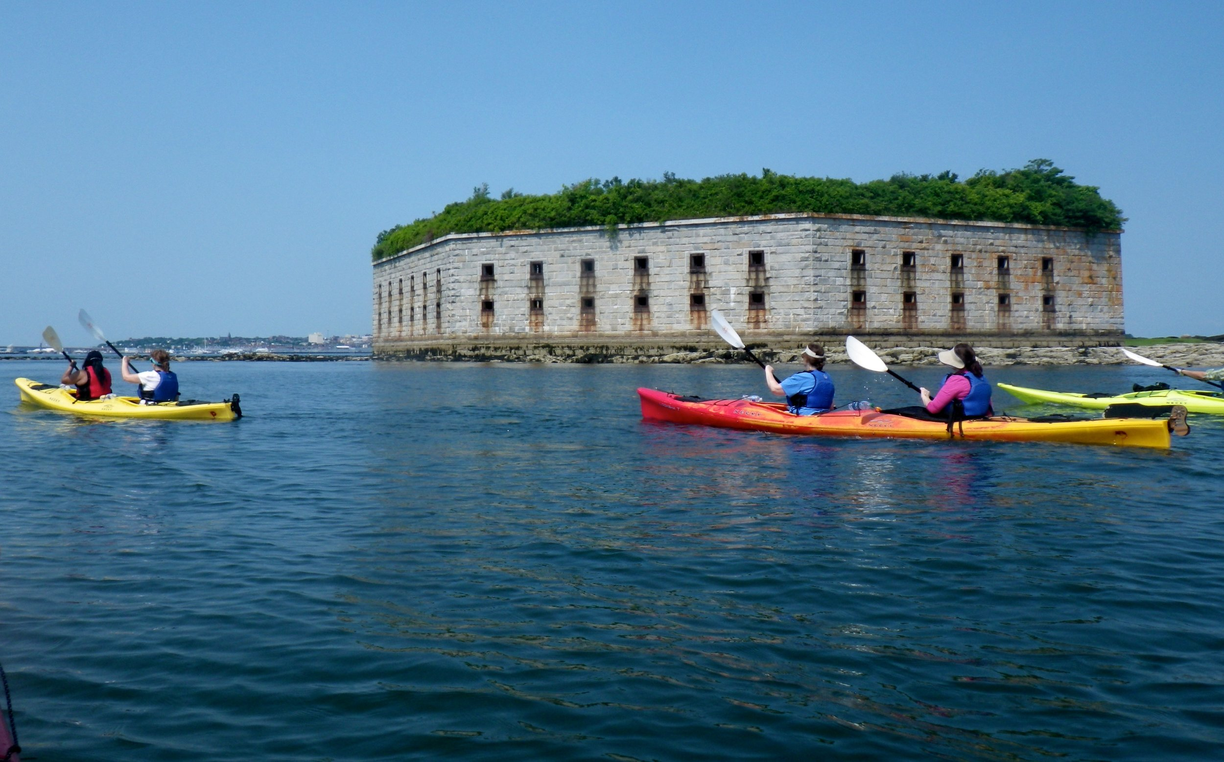 Copy of Fort Gorges Kayak Tour