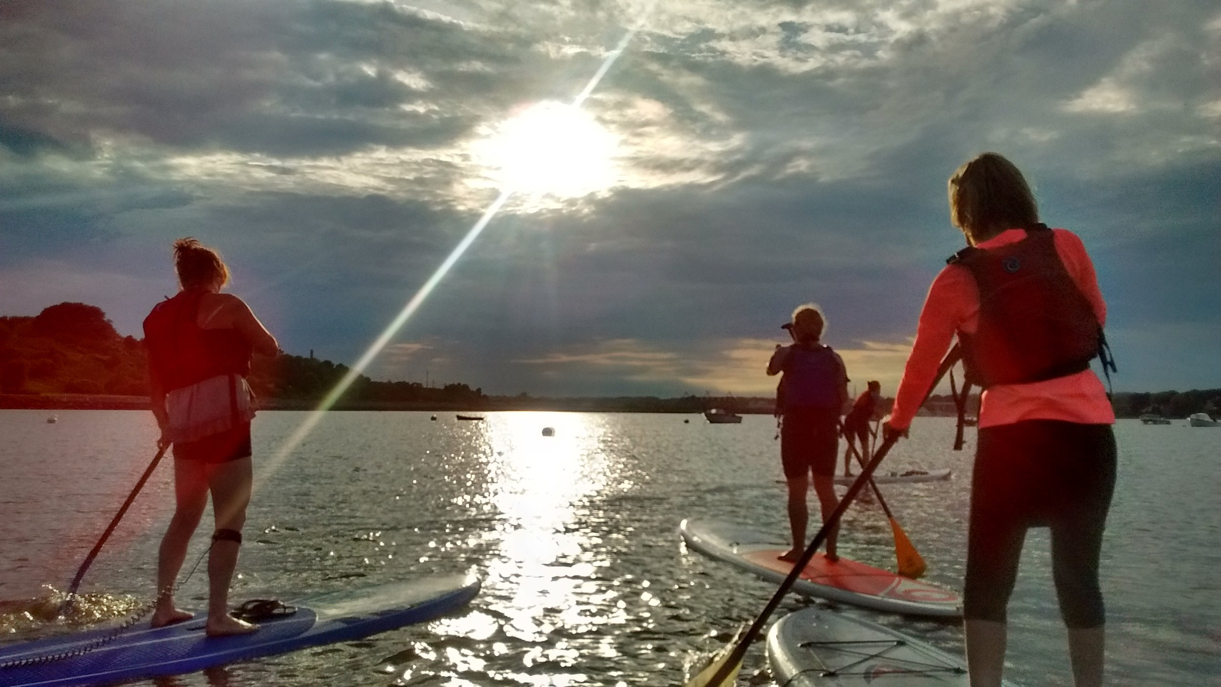 Full Moon SUP TOUR - On nights with Full Moons in July and August1.5 hours, $45 per person