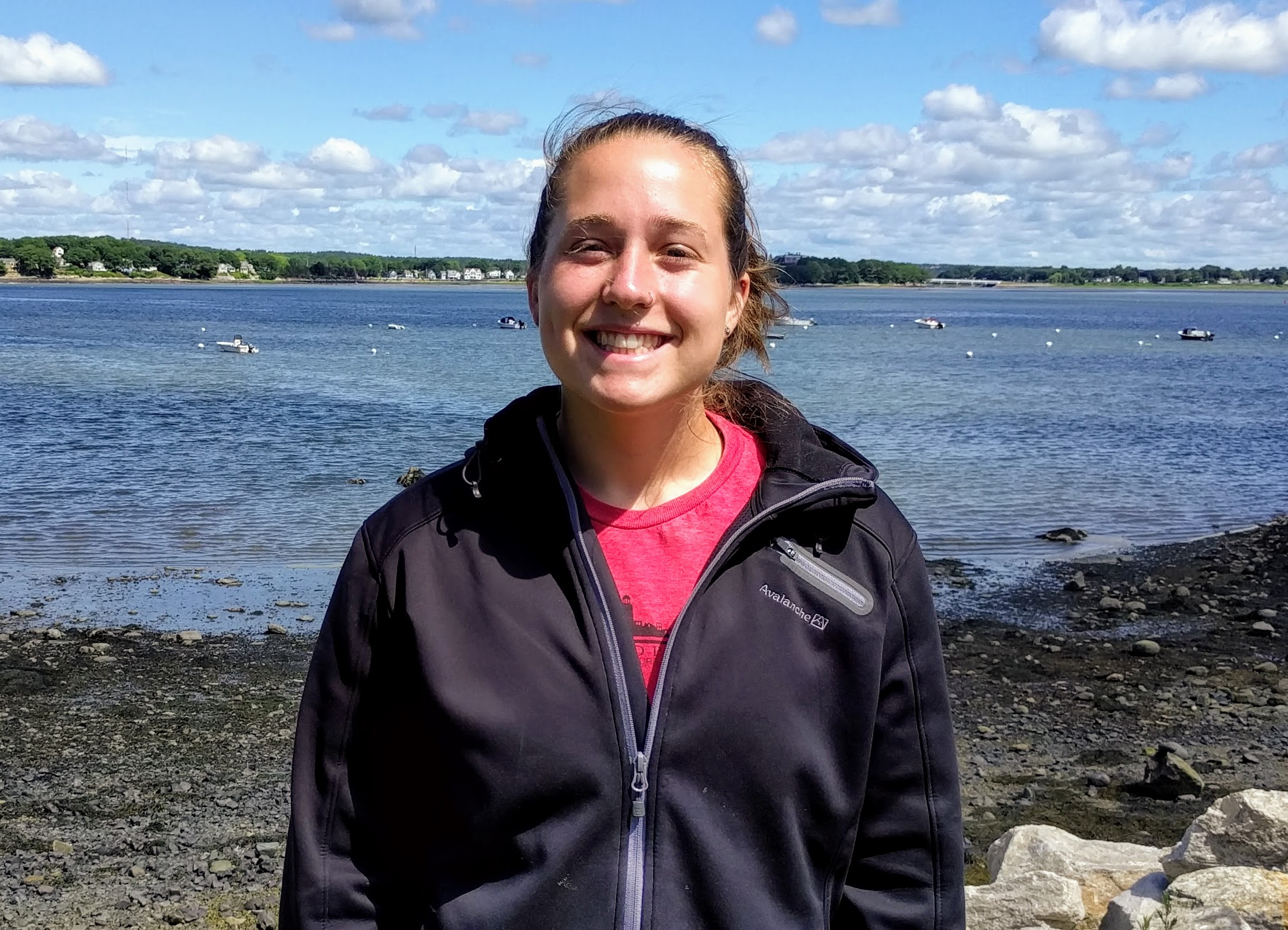 Emily Mooney - Emily is a Portland native who joined the shore staff team in 2016. She is currently studying physical education at the University of Maine with a minor in outdoor recreation.