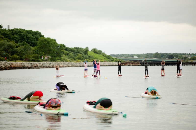 Stand-Up Paddleboard (SUP) Yoga