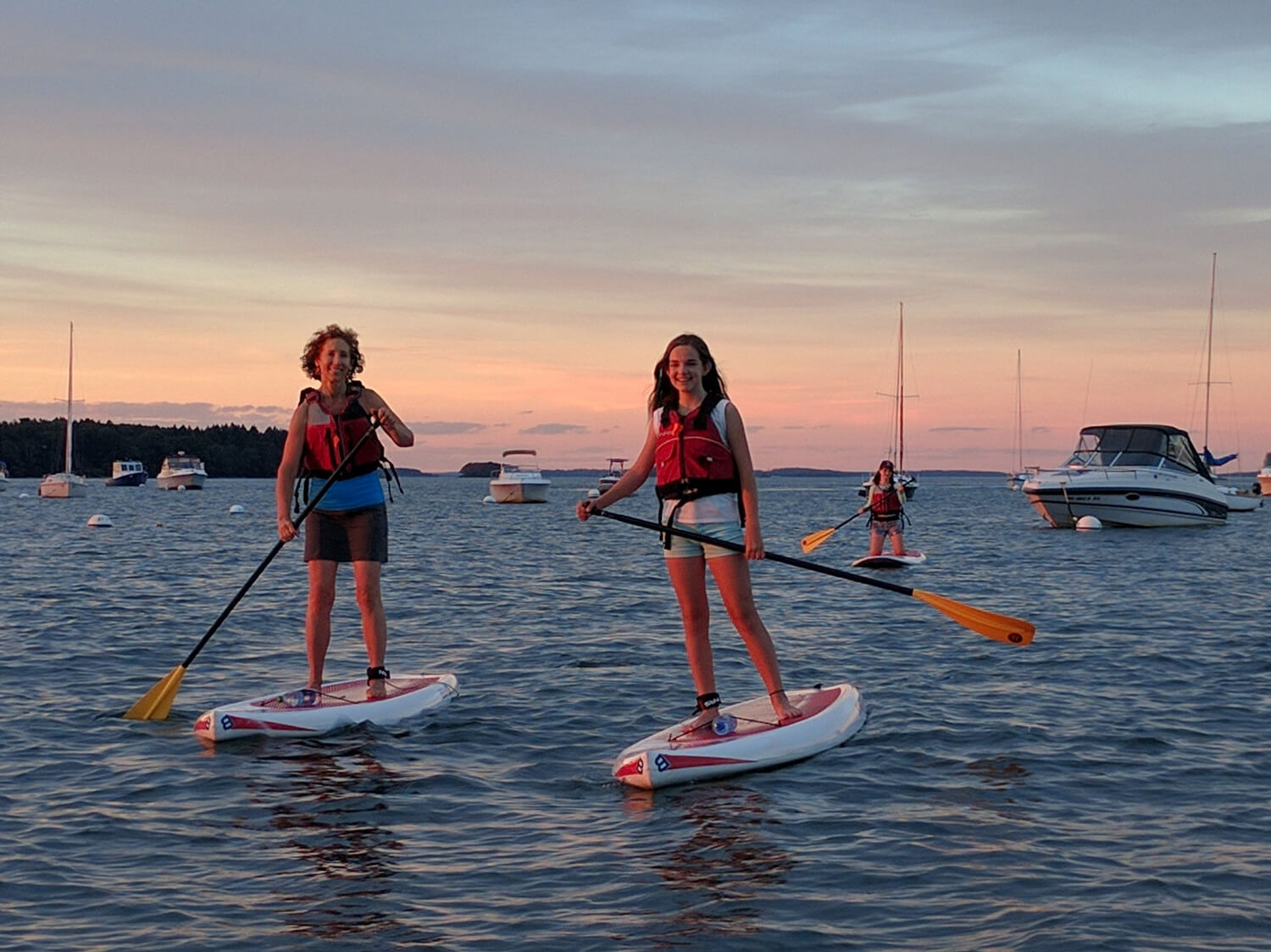 Guided SUP and Sea Kayak tours in Casco Bay