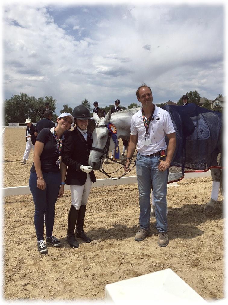 (L to R)Kate Fleming-Kuhn,Jenna Upchurch,Greystoke, &Martin Kuhn
