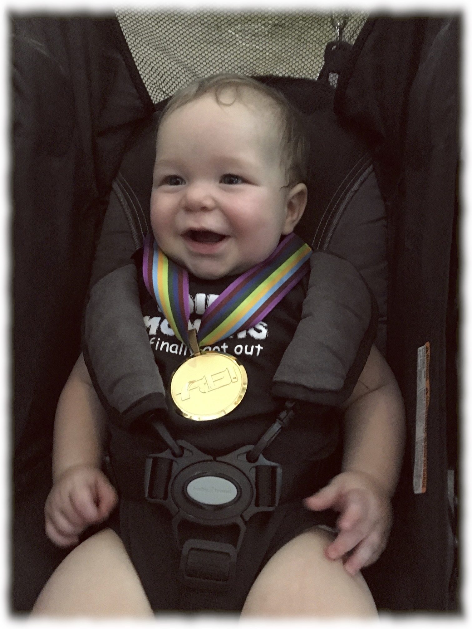 Malcolm James Kuhn & one of Jenna Upchurch's medals