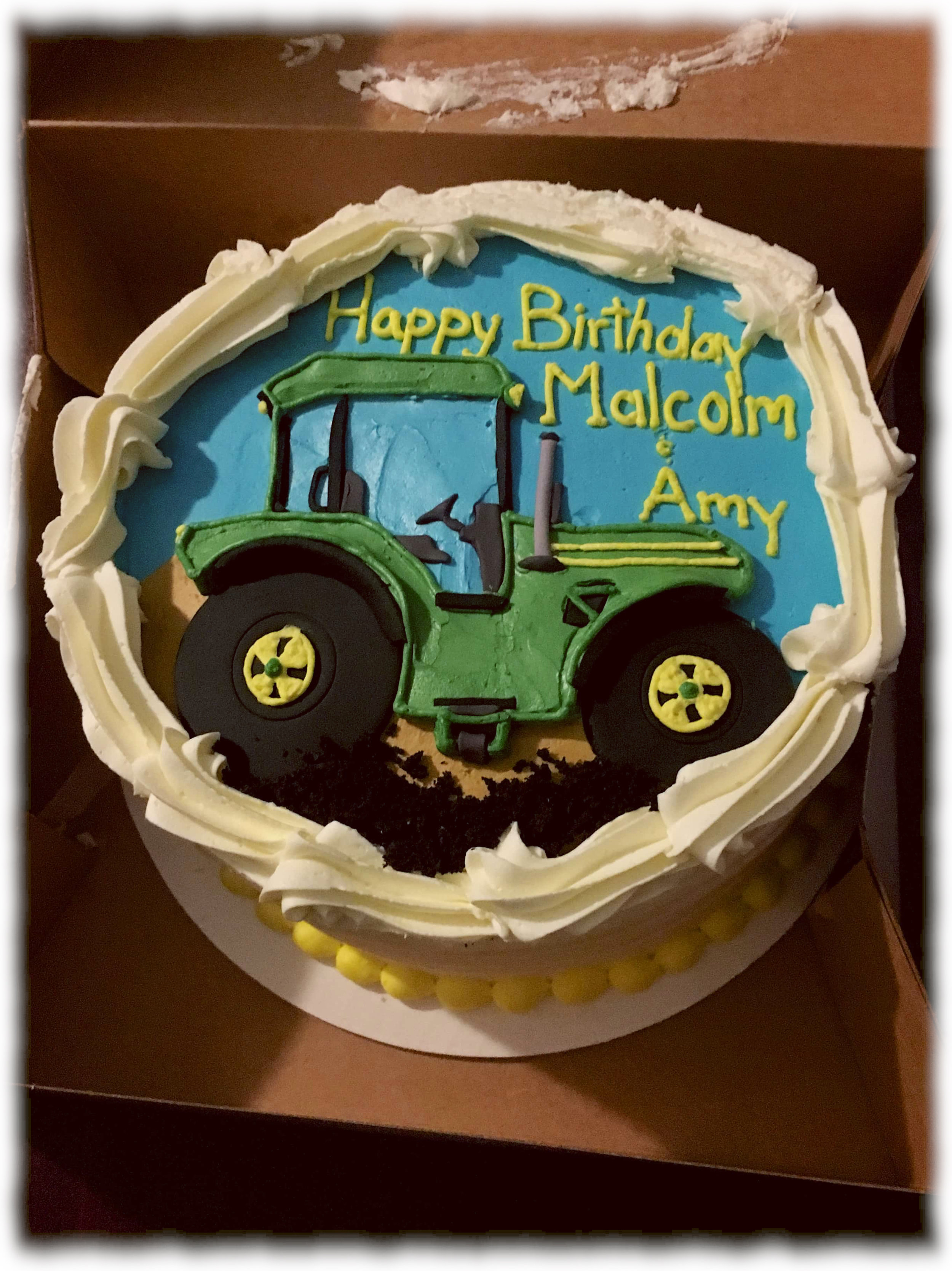 The barn celebrated Malcolm James Kuhn and Amy Blum's birthdays during finals.