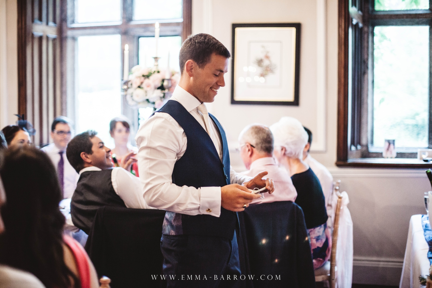 It can really help when speakers move out of the bridal table, it gives me more access and also the guests at the back can see and hear better!