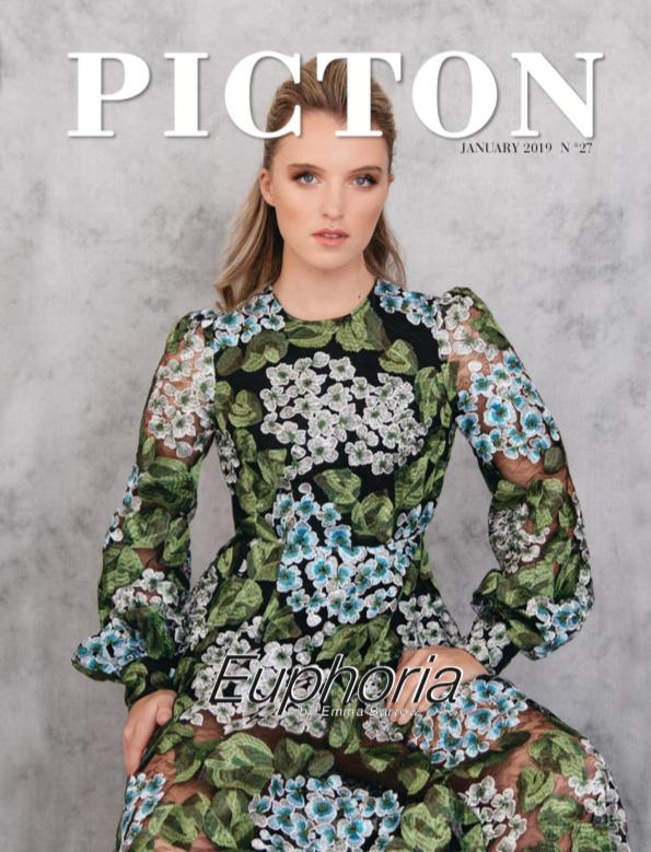 fashion editorial portrait floral dress plymouth