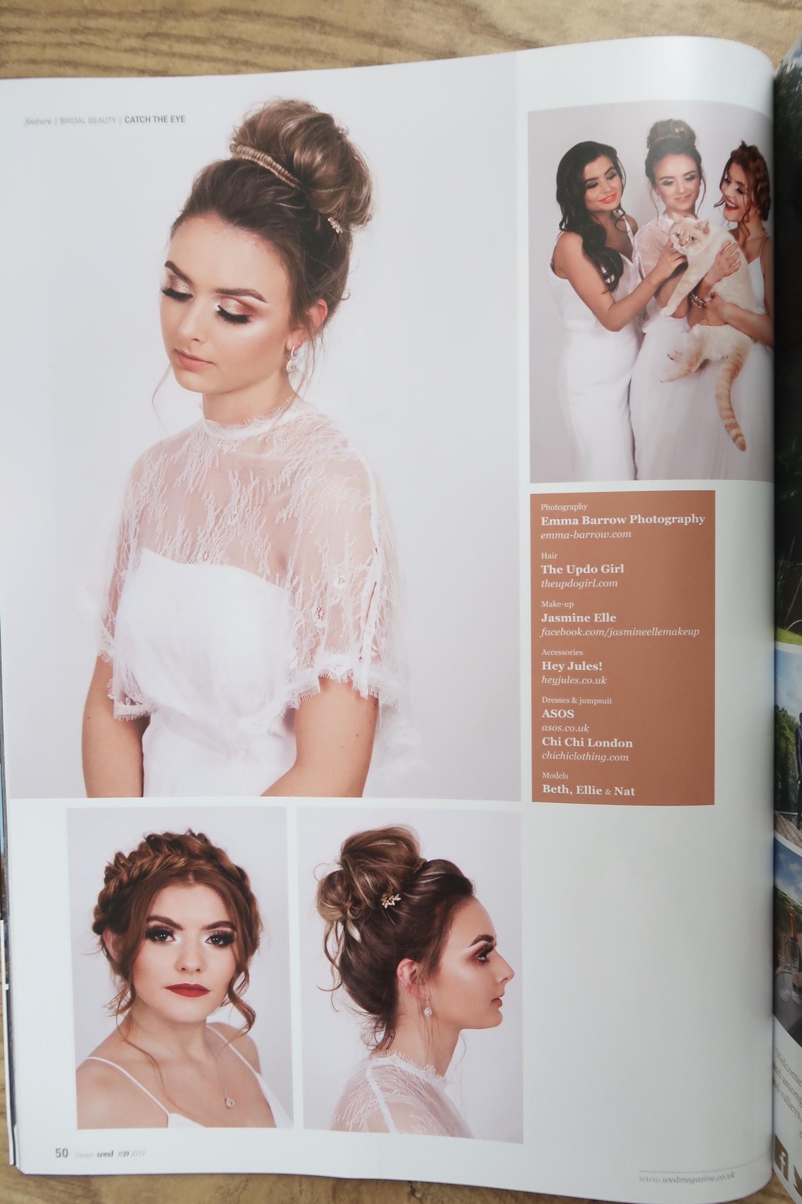 wed magazine emma barrow devon cornwall bridal wedding beauty tips