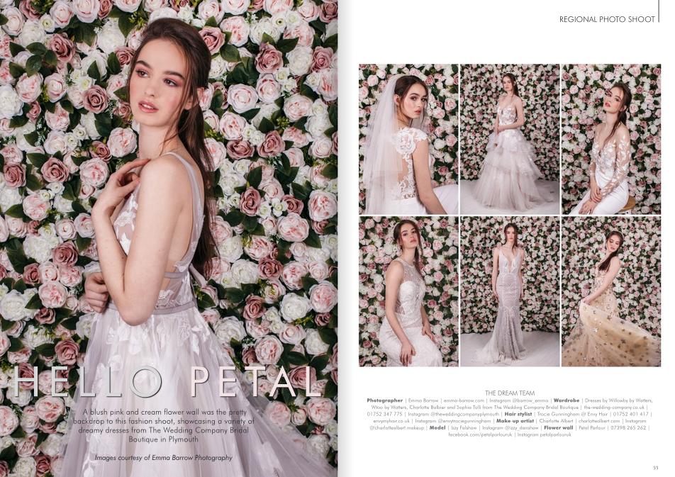 emma barrow flora hello petal your devon and cornwall wedding magazine