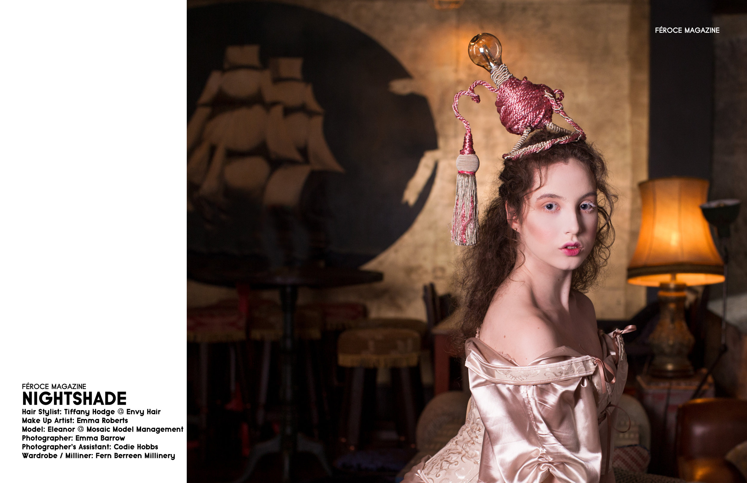 emma barrow nightshade fashion editorial commercial photographer plymouth devon