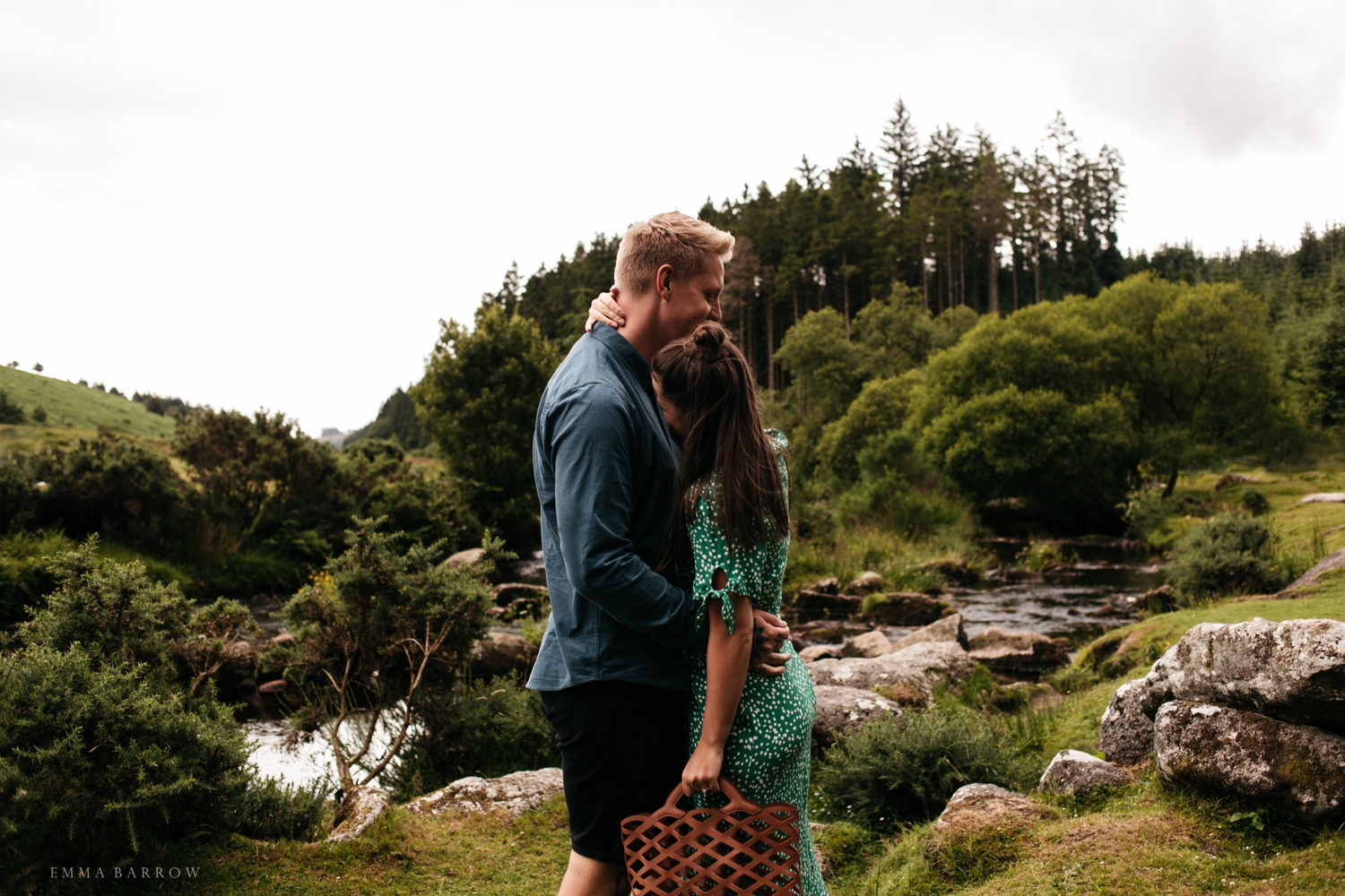 emma barrow pre wedding photographer proposal engagement believer forest plymouth