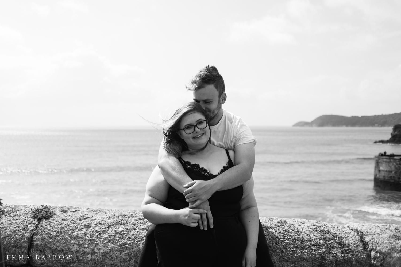 emma barrow pre wedding photography portrait session charlestown st austell