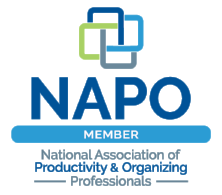 Living lightly is a certified member of the National association of professional organizers