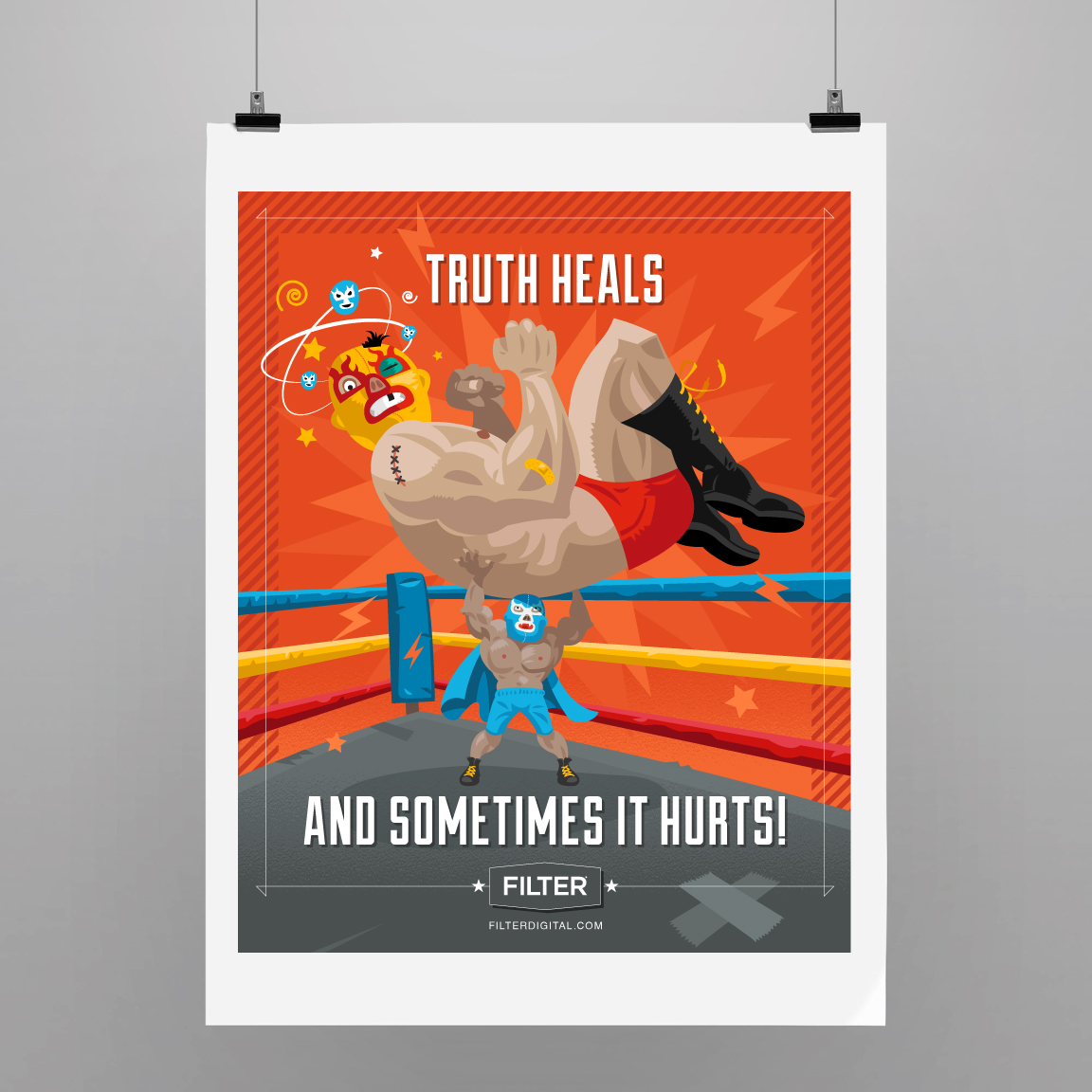 Truth heals and sometimes it hurts!