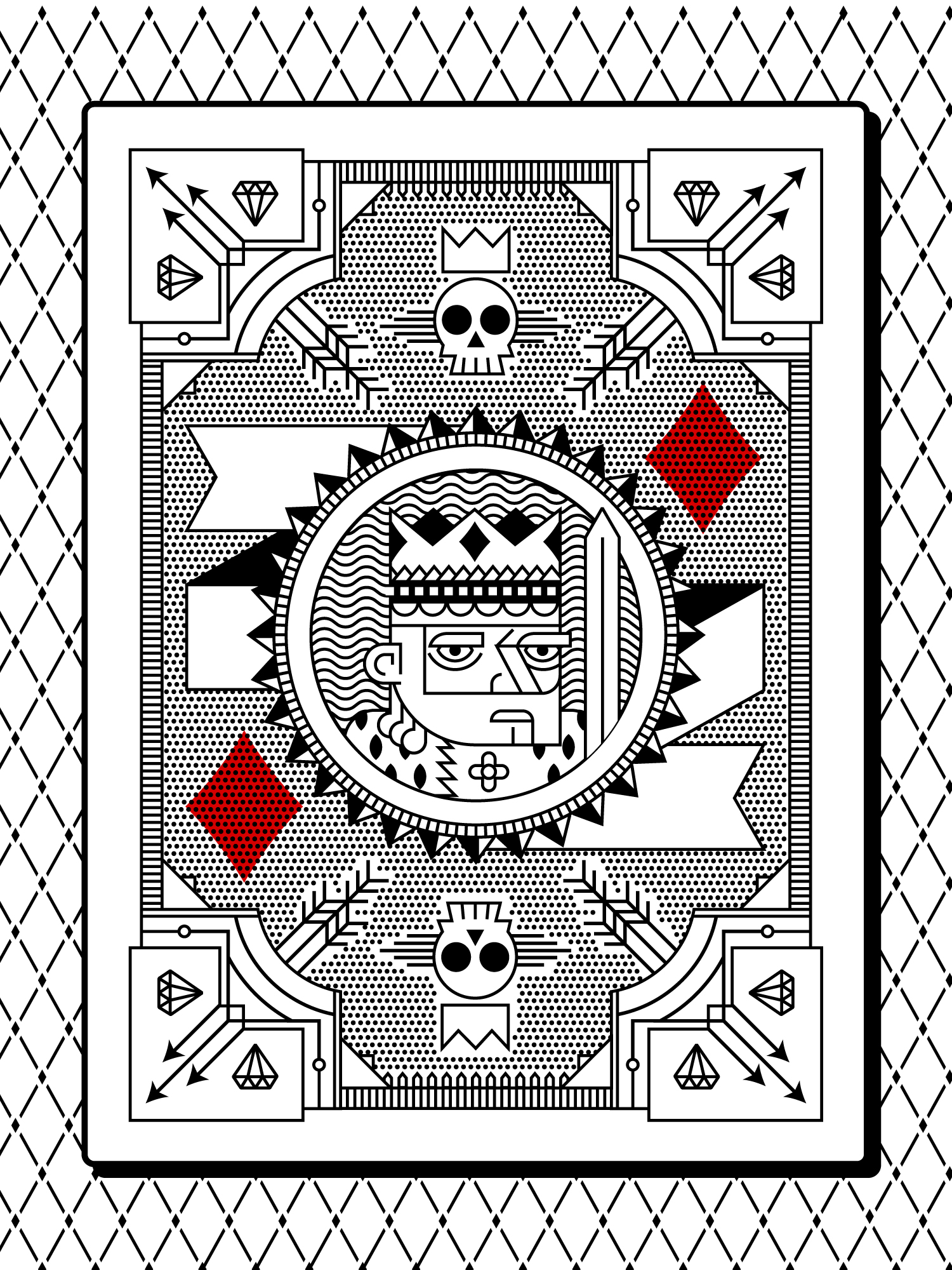Playing card...