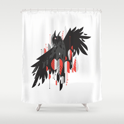 Yes. A shower curtain. I bet yours is really moldy by now.