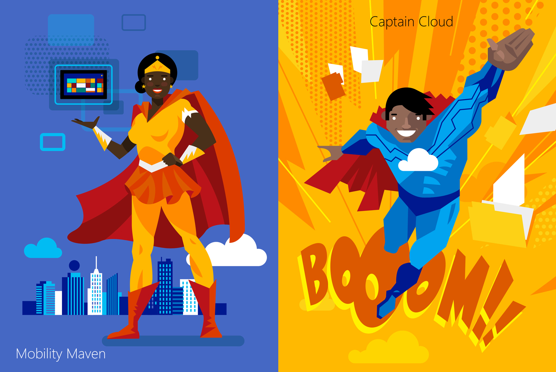 Mobility Maven and Captain Cloud