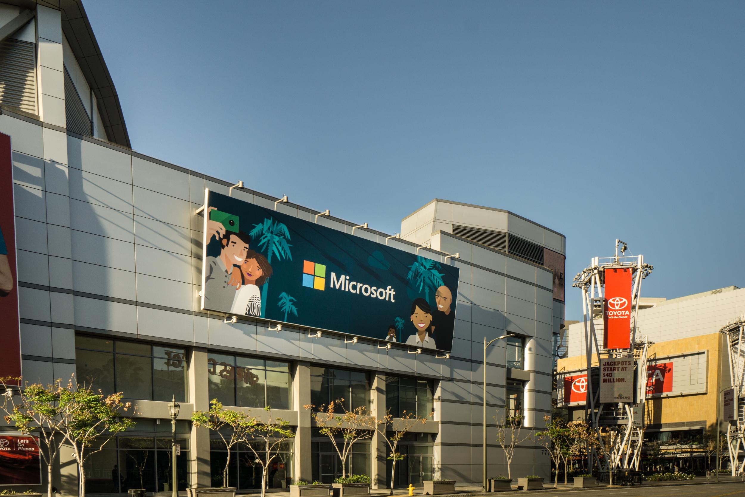 Billboard.- Photo by Lou Zumek