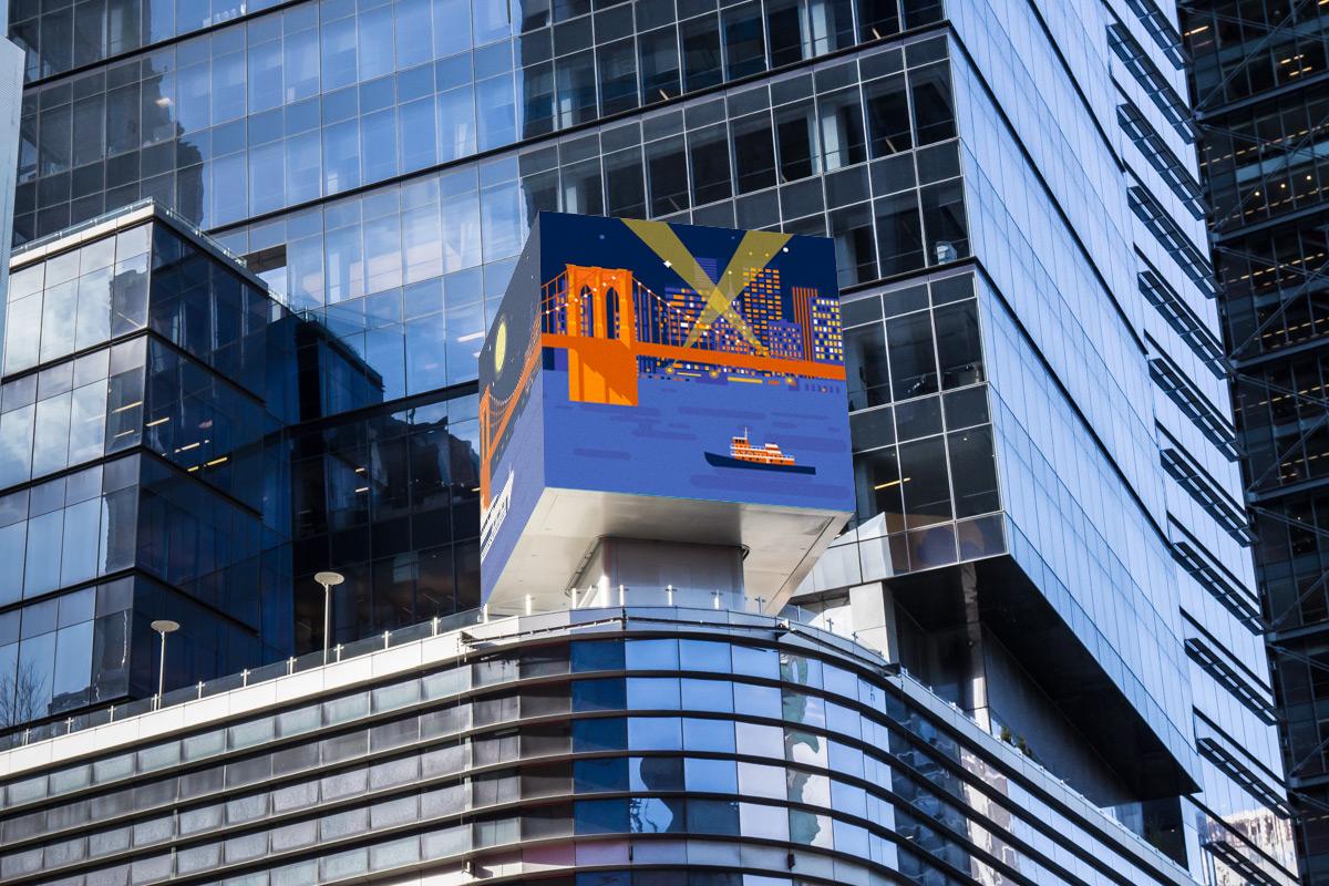 Microsoft. Times Square - Photo by Lou Zumek
