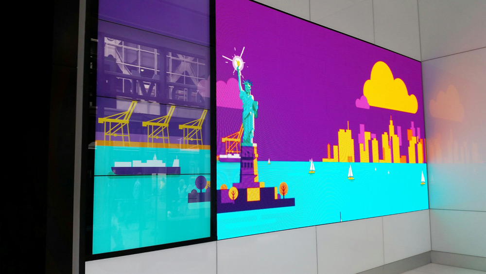 Microsoft interior video.