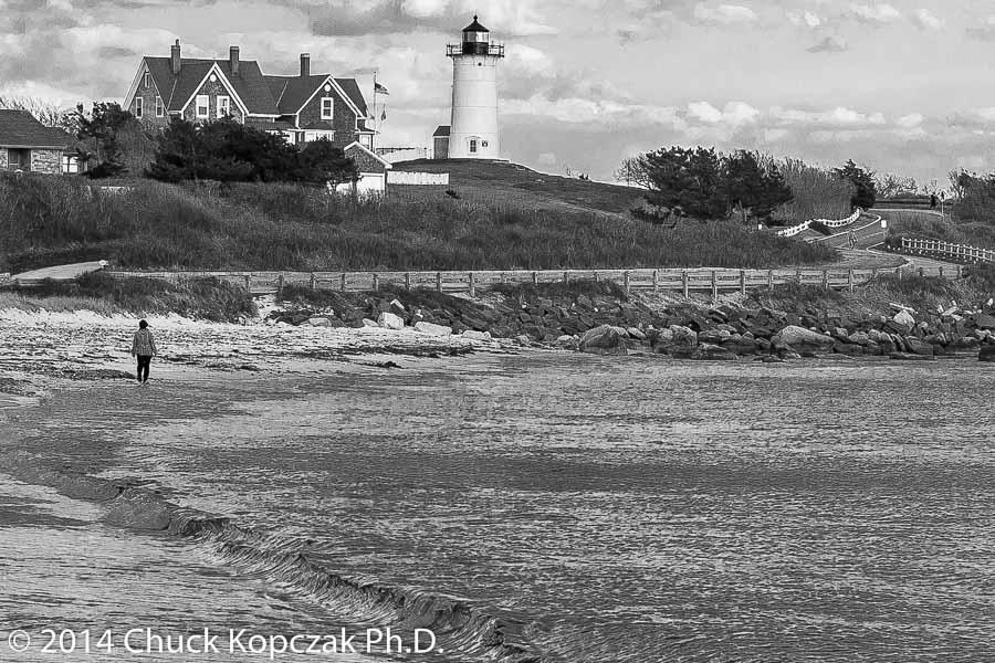 Nobska Point Light on the southwestern tip of Cape Cod.