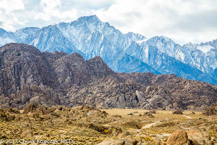 Alabama Hills and the Sierra Nevada