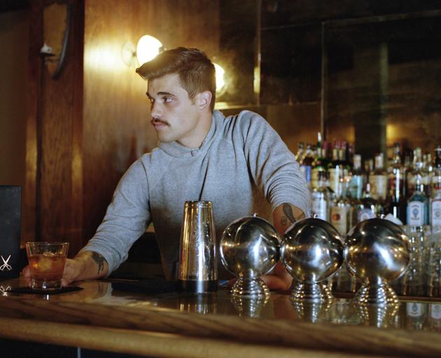 Jeff Laub, bartender/barber