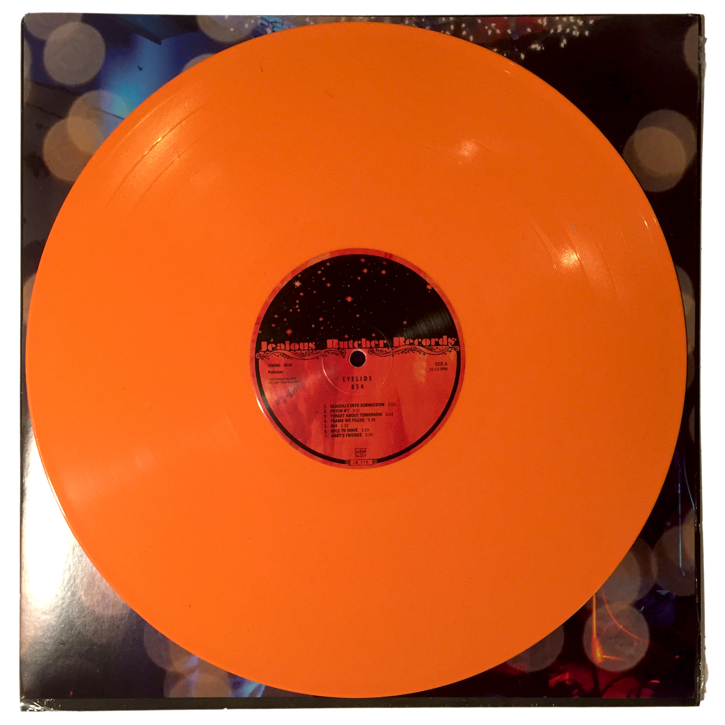 4TH PRESSING ORANGE VINYL!!!