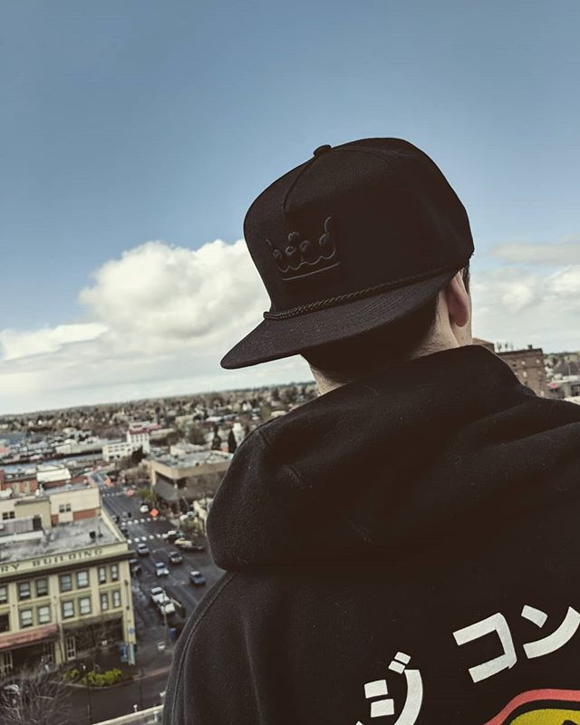 My crown in rotation. 👑 . . . #thatsimmoral #wearthecrown #apparelbrand #fashion #pnw #snapback #headwear #seattlefashion #design #streetwearbrand #streetstyle #apparel #clothingline #lifestylebrand #newclothingbrand #brandlaunch  #campcap #nike #baitme #seattlefashion #lookbook #fashiondesign #style #cap #snapbackhat