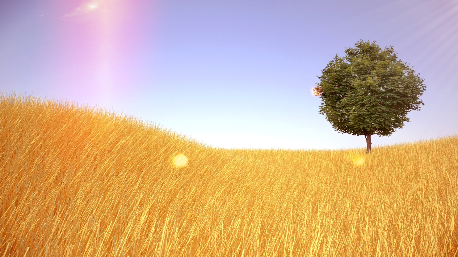 Click to enlarge: Fields of Gold Preset