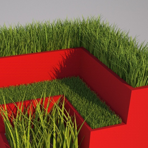 Get beautiful, photo-realistic 3d grass & more in your SketchUp, FormZ & Bonzai3d projects.