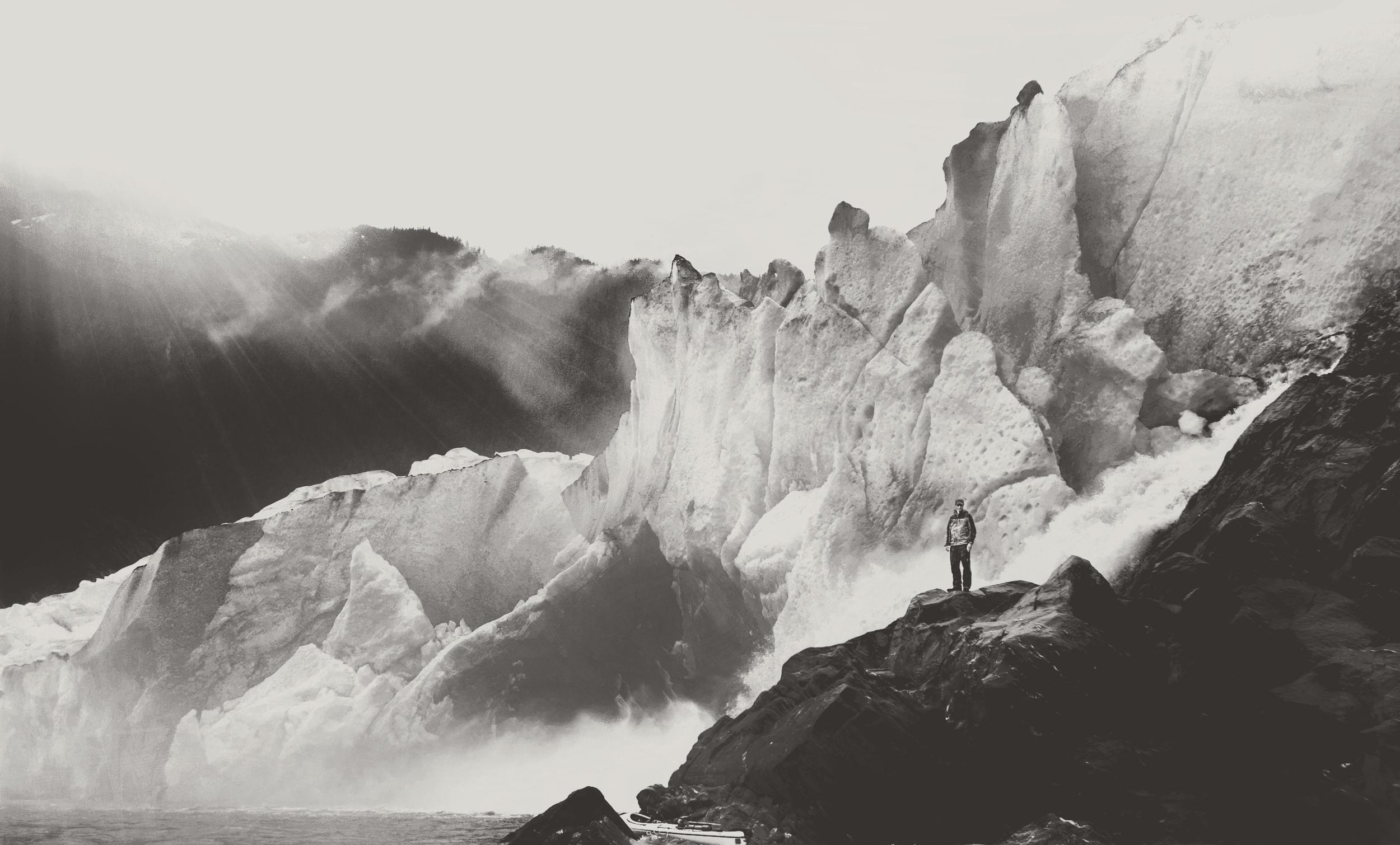 Kayak_Glacier_BW.jpg