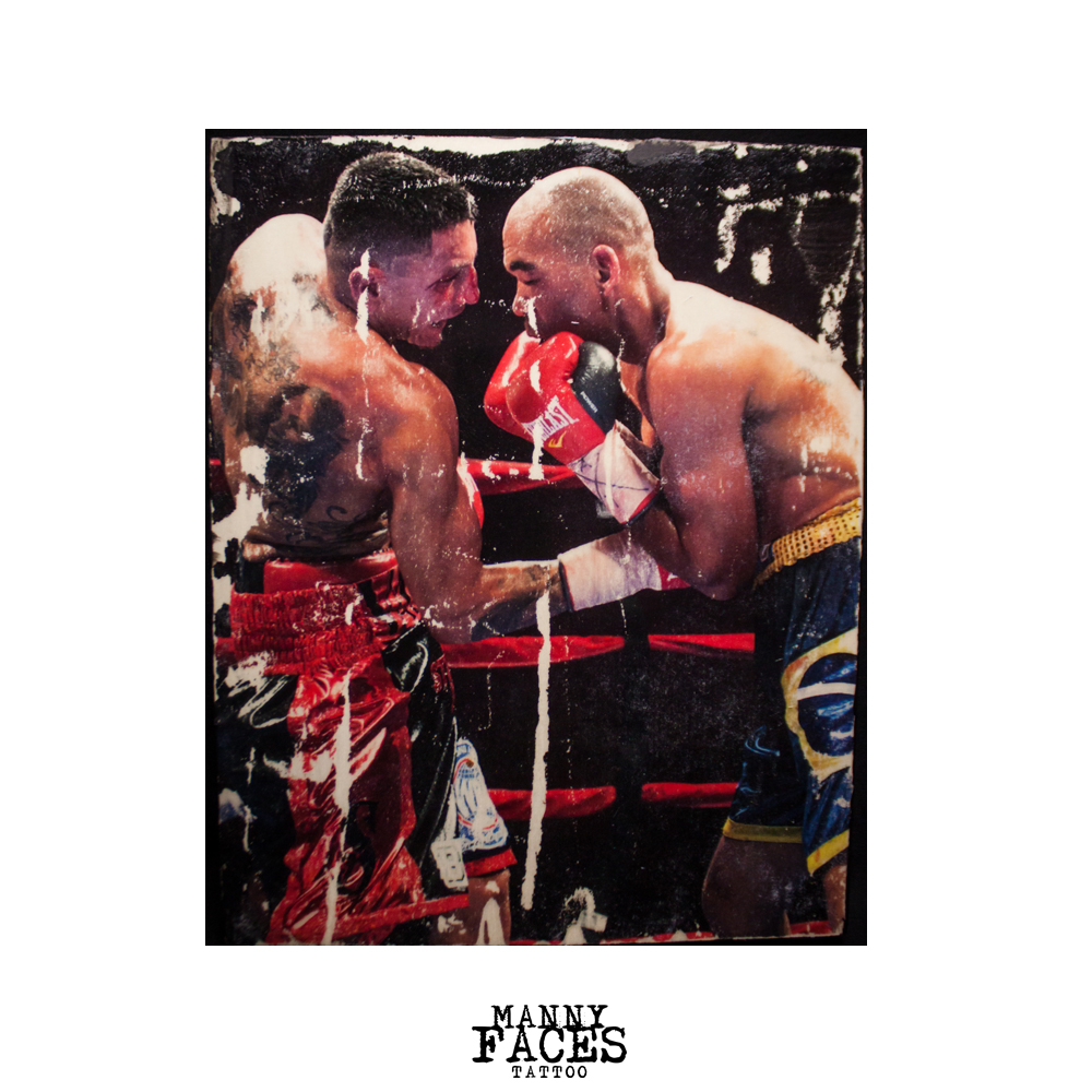 "Custom 8"" x 10"" Gallery Art   'Samuel Vargas'  by Manny Faces  $25.00"