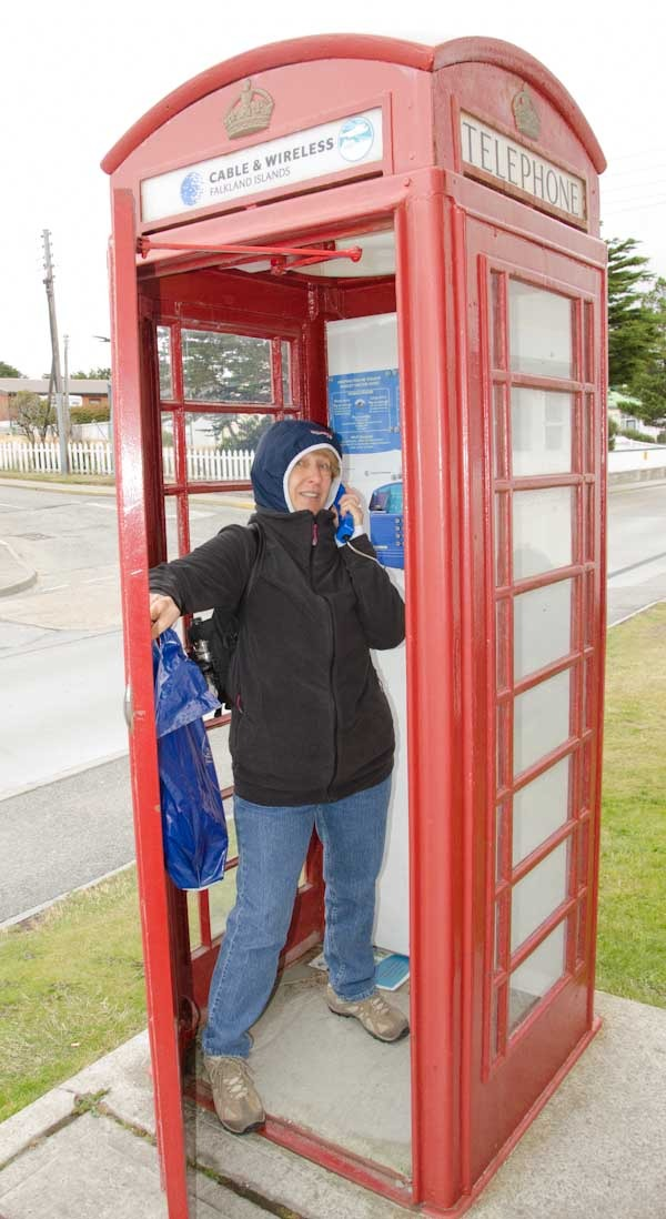 Can you hear me now? I'm in Stanley