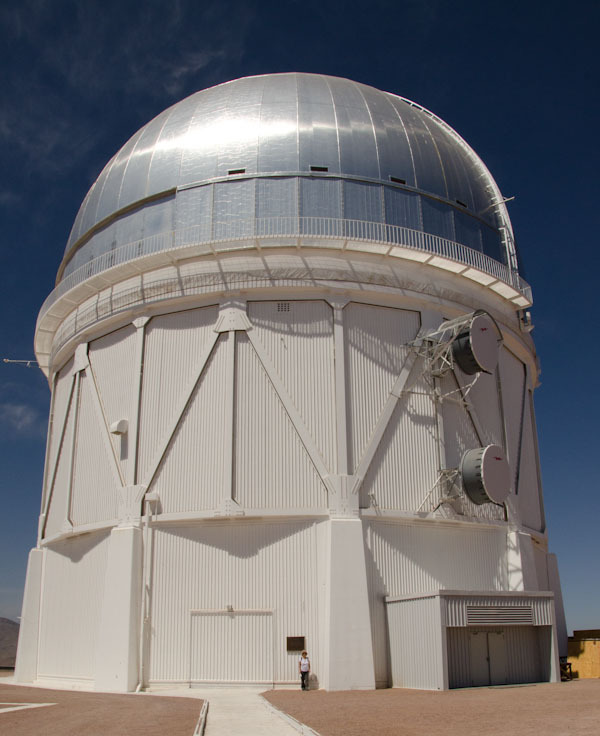 The Blanco Telescope (that's Zenetta at bottom)