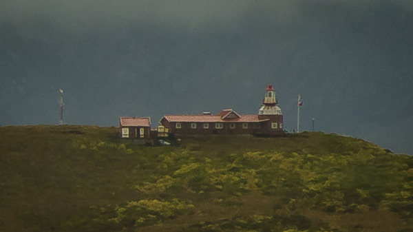 Cape Horn Lighthouse and home
