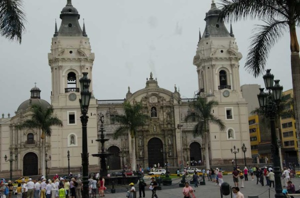 Cathederal of Lima Peru
