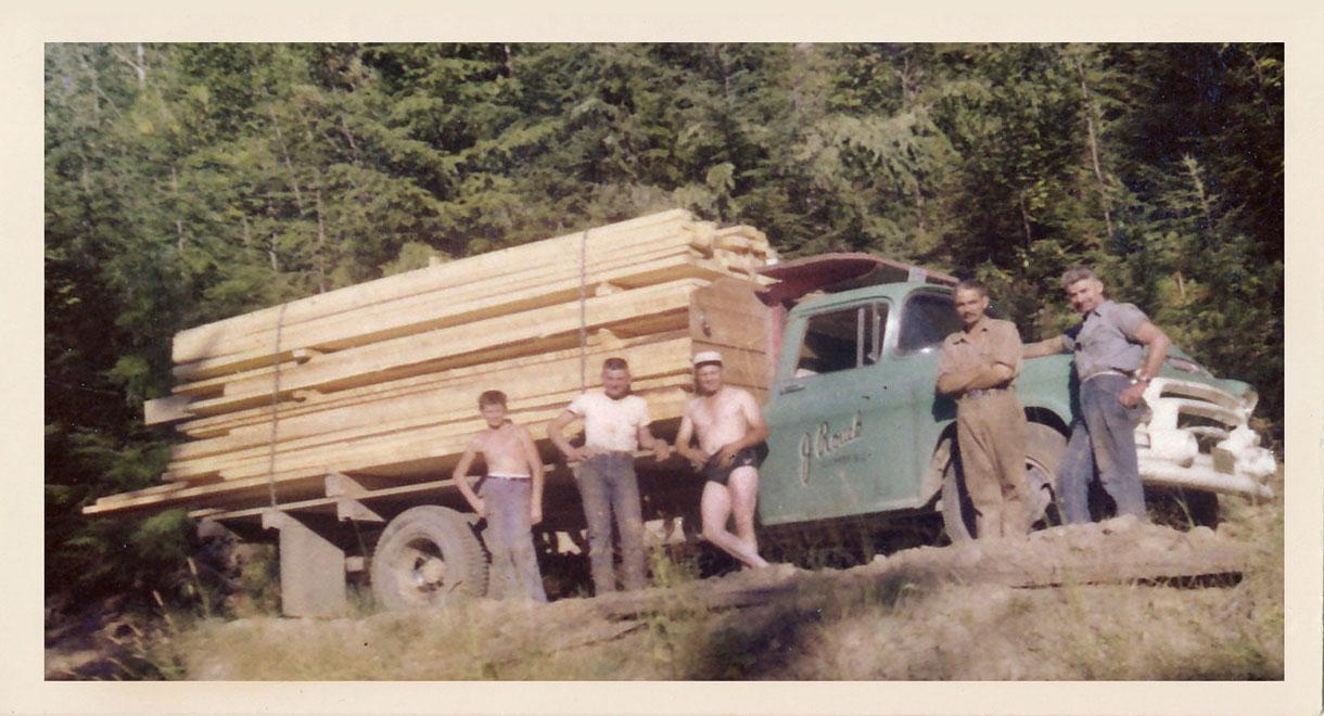 Jack Rouck Truck - Sugar Lake 1958