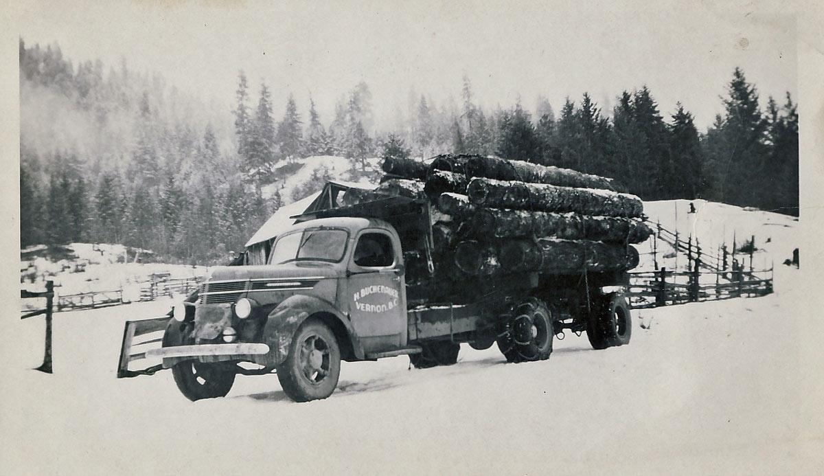 Winter Logging 1950's