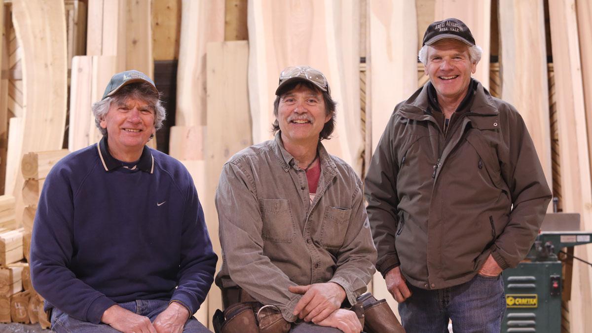 Earl Rouck, Kevin Rouck, Doug Rouck - 2015