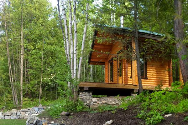 Custom Outdoor Sauna/Guest Cottage