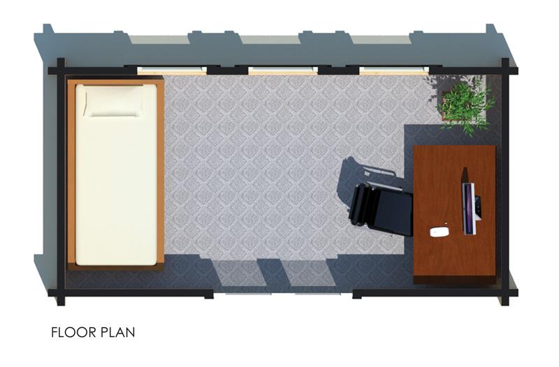 Floor Plan of Tiny Home