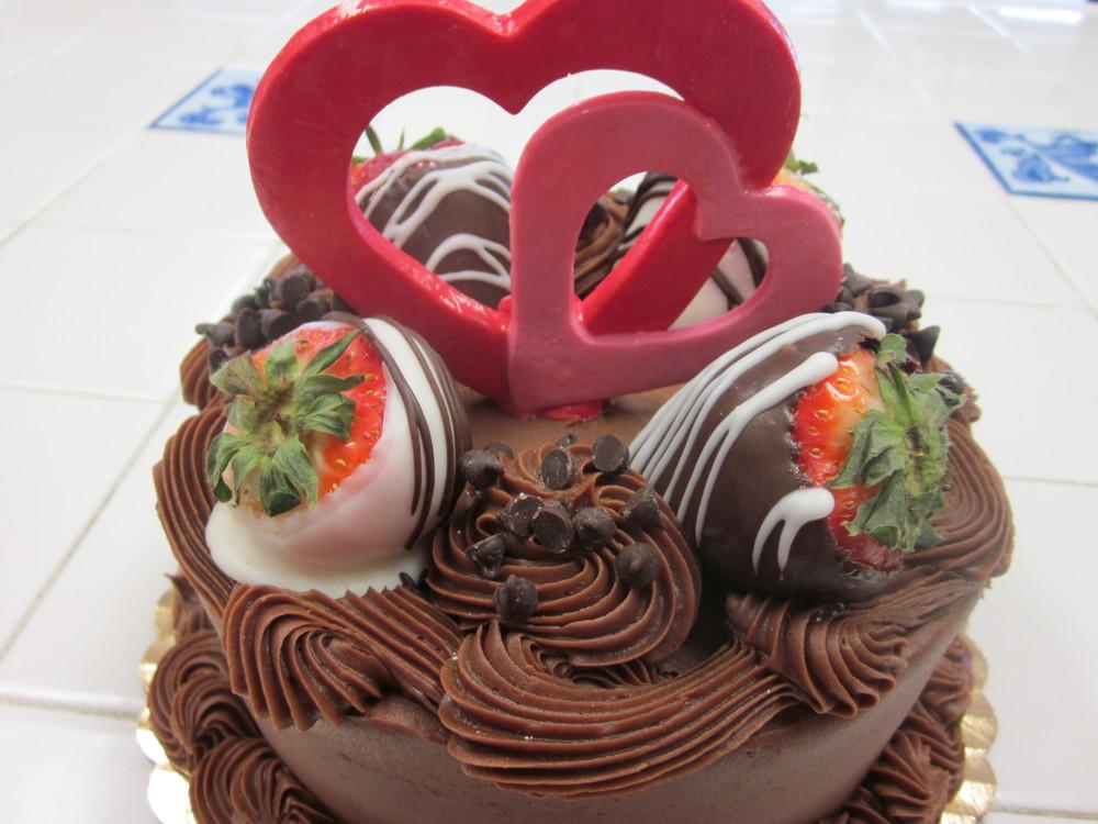 Stacy's Sweetheart Cake