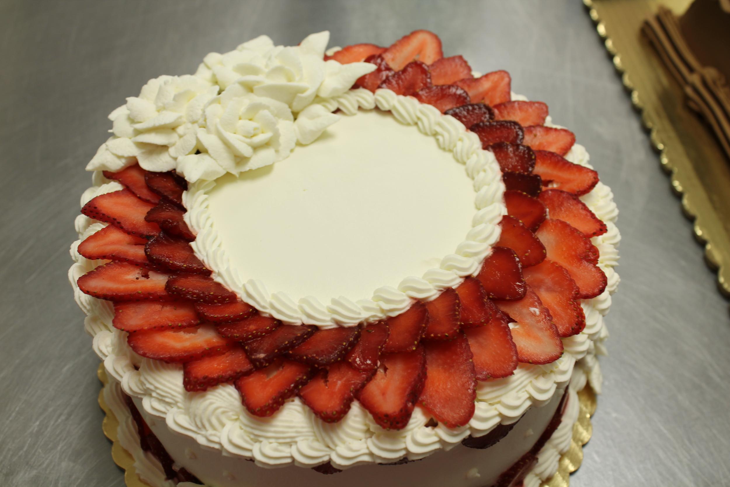 Exquisite Strawberry Shortcake